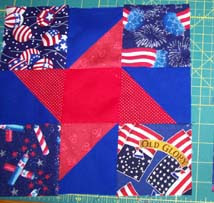 FEB08 Block of the Month - QoV Friendship Star