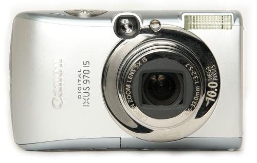canon ixus 800 is manual