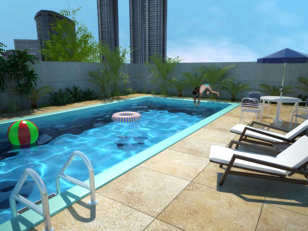 Some of my sketchup renders skyscraperpage forum for Pool design sketchup
