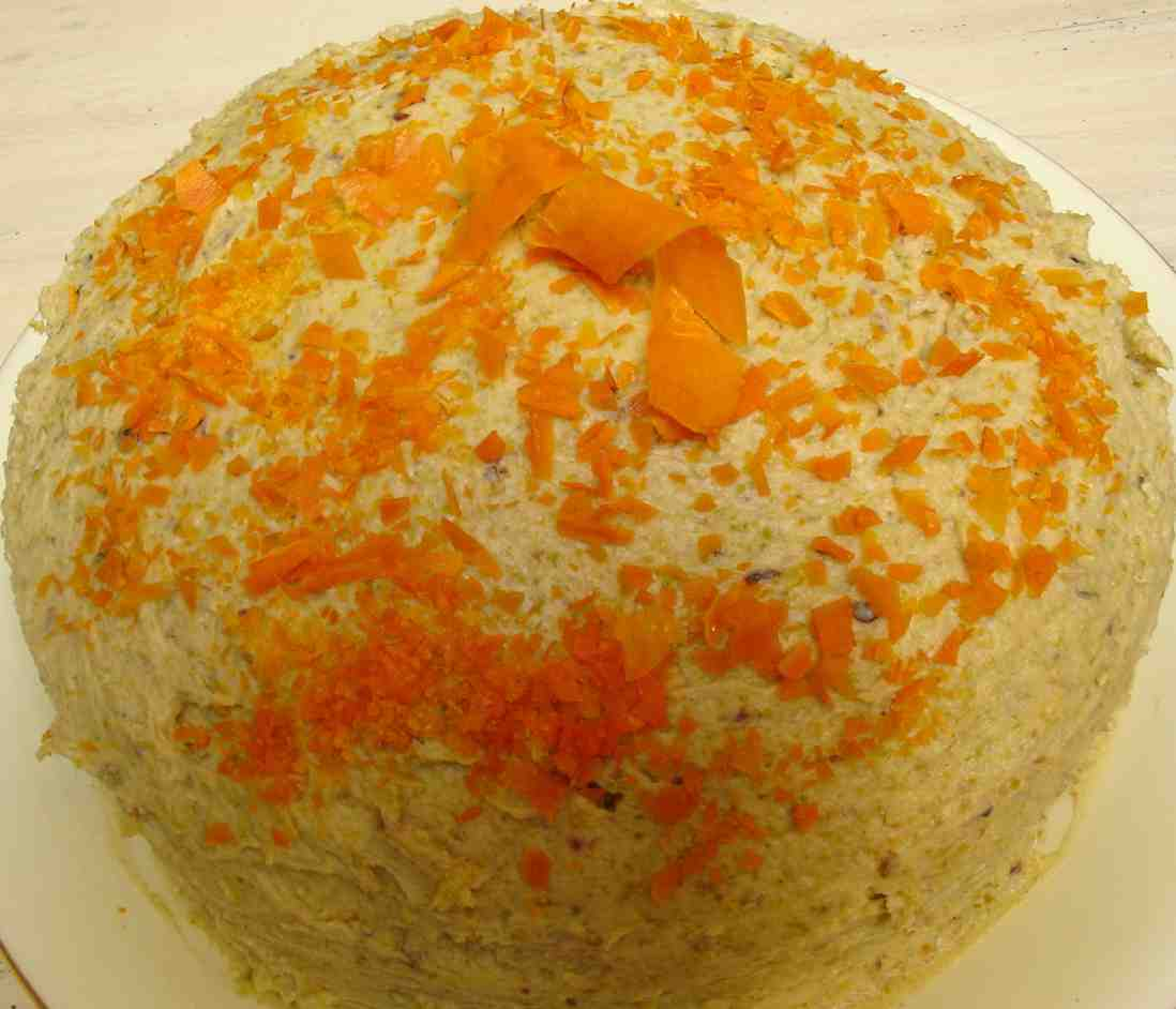 Good Ass Carrot Cake Recipe