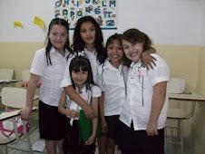 Stas: Brenda, Sofía Micaela, Guadalupe y Candela de seis añitos