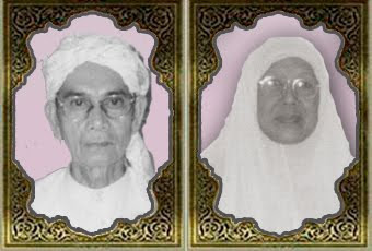 Almarhum Ayahanda Shariff & Almarhumah Bonda Che Siah