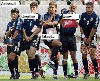 Gambar KOCAK di pertandingan SEPAKBOLA Soccer22