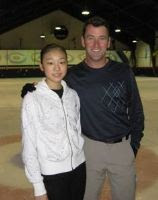 Yu-Na Kim and Brian Orser