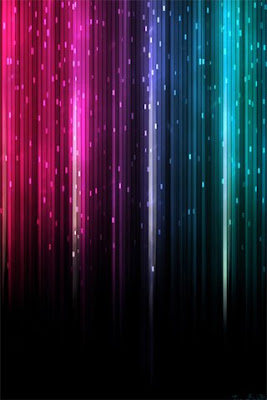Abstract Rainbow Background for iphone