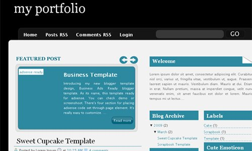Free Blogger Template 2009: Premium Blogger Template, Magazine, Web 2 Style, Converted from wordpress, 1, 2, 3 Column Blogspot xml Template