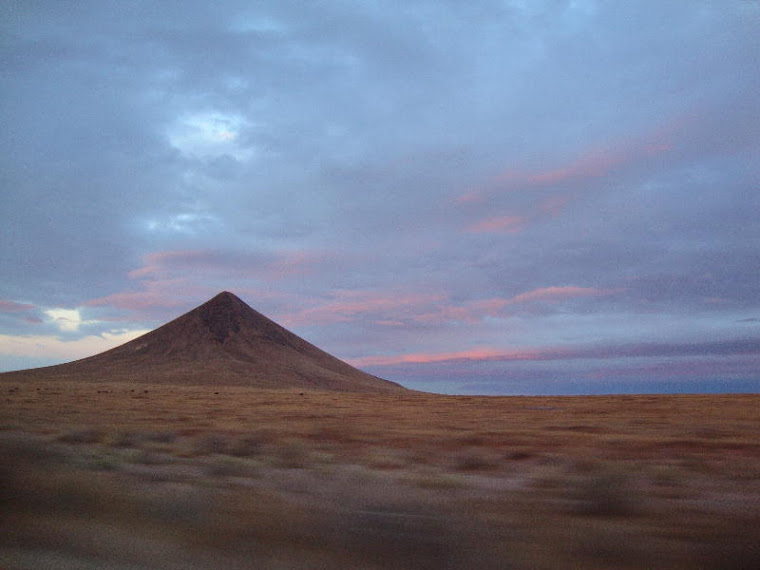 Sunrise Through the Car Window