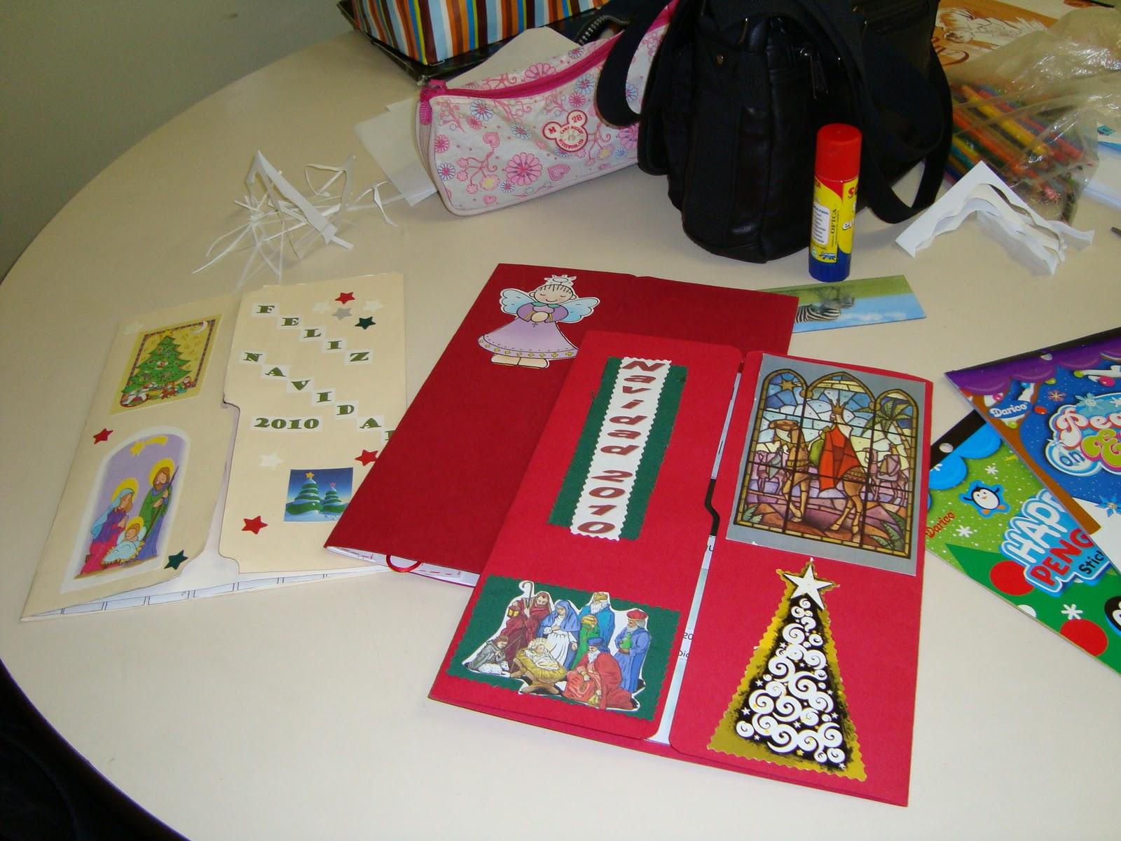 En la v a singular de la vida prepar ndonos para navidad - Disenar tarjetas de navidad ...