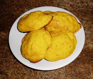 Recetas de Cocina: BUÑUELOS DE ZAPALLO AL HORNO