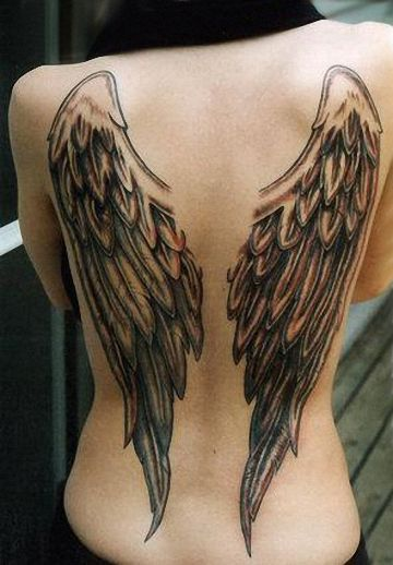 Among other popular angel tattoo designs are guardian angels, archangels,