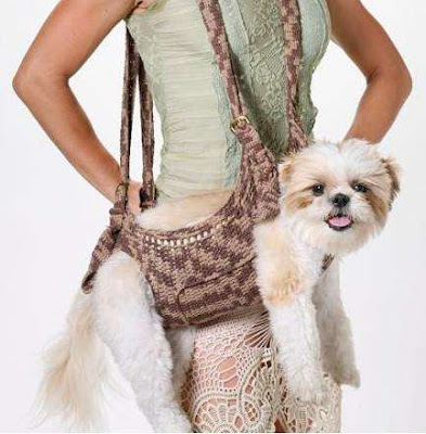 Crocheted pet harness pattern! | crochet and knitting