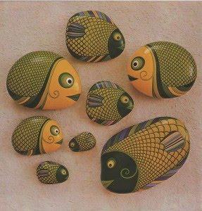 Bellisimas piedras pintadas a mano lodijoella for Piedras pintadas a mano paso a paso