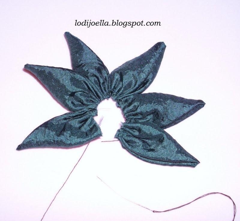 Como hacer bonitas flores de tela lodijoella - Flores de telas hechas a mano ...