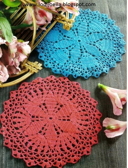 Carpetas tejidas a crochet :