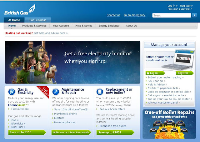 www.BritishGas.co.uk - Login and Pay Gas and Electricity Bills Online