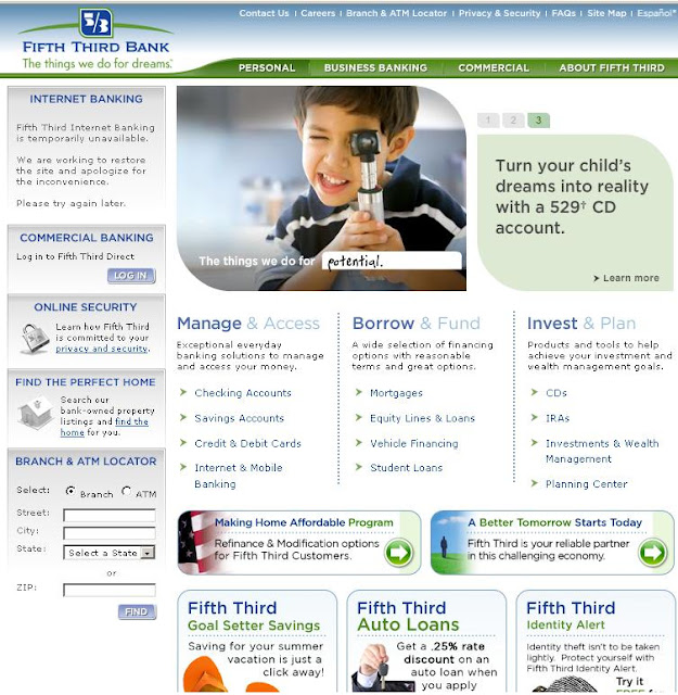 www.53.com - Fifth Third Bank Online Banking for Checking & Savings