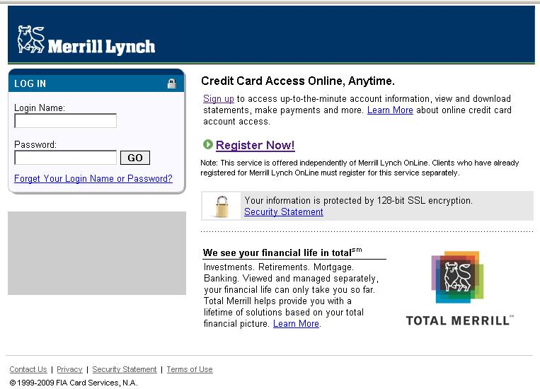 Merrill lynch stock options login