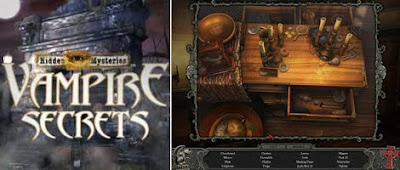 Hidden Mysteries: Vampire Secrets Walkthrough Guide and Cheats