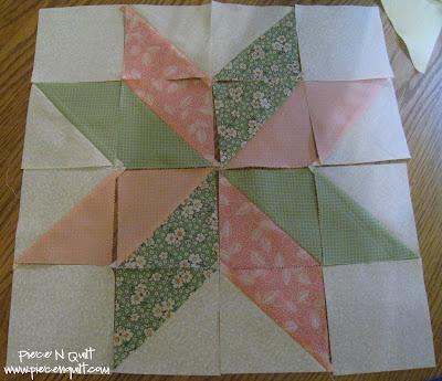 Piece N Quilt: Star Flower Quilt Block Tutorial : star flower quilt block pattern - Adamdwight.com