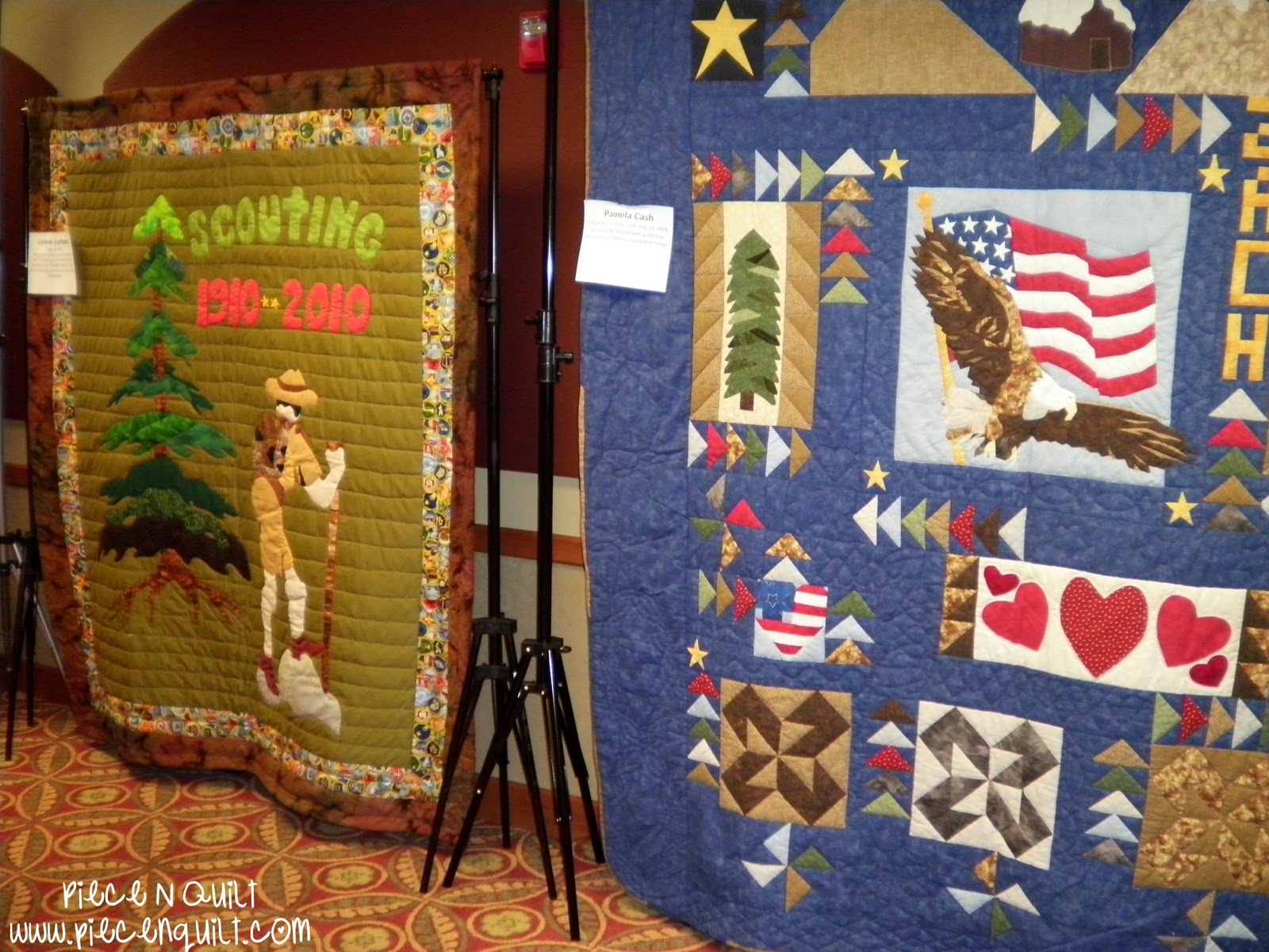 Piece N Quilt: Boy Scouts of America Quilt Display : boy scout quilt - Adamdwight.com