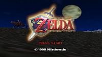 Zelda OoT Title