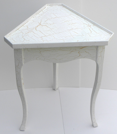 My Next Hand Painted Cottage Furniture Project Is This Corner Table. This  Is An Accent Table Or Occasional Table And Would Fit In A Beach House Or  Any ... Amazing Pictures