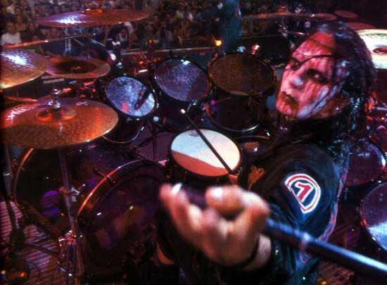 slipknot joe jordison druming