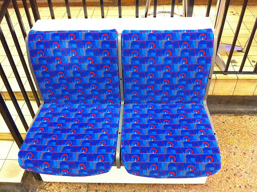 Urban vision for London underground moquette