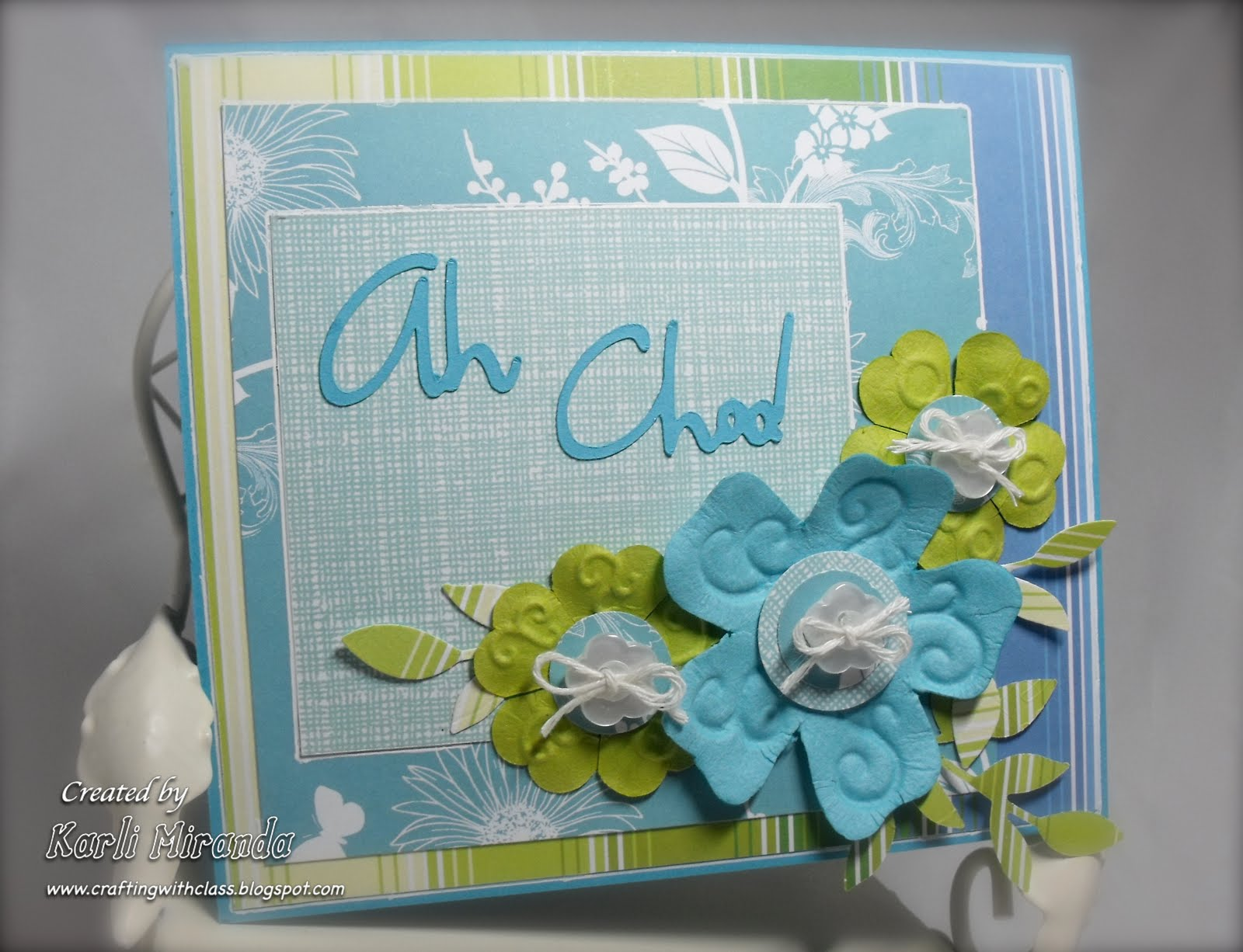 Crafting With Class Tissue Box Pop Up Card Video Tutorial
