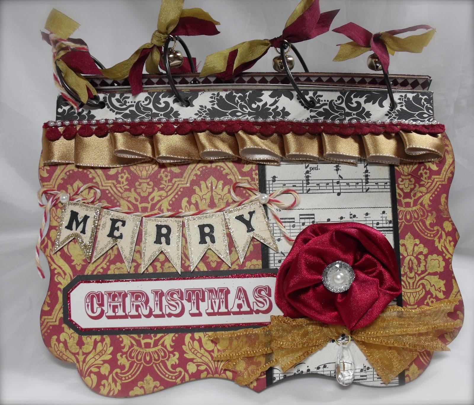 handmade christmas album