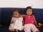 Arissa (2 years old) and Aryana (3 months old)