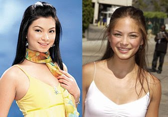 Angel Locsin and Kristin Kreuk