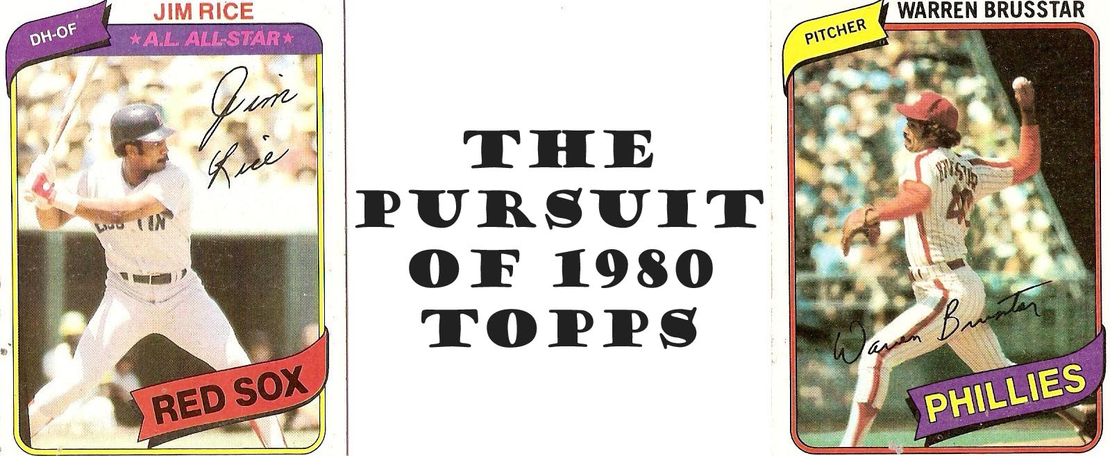 The pursuit of 1980 Topps