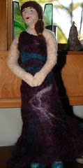 needle felted figure