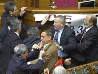 pelea senado