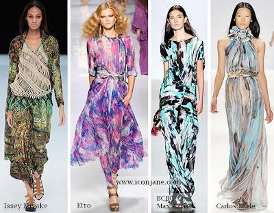 2010 yaz desenli kumas moda trend 7