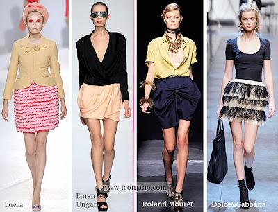 etek modelleri 2010 yaz sezon moda trend 2