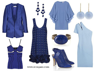 mavi tonlari elbise 2011 1