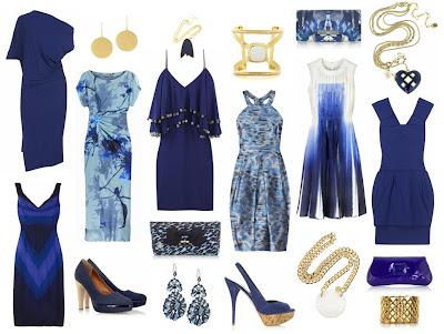gece mavisi abiye elbiseler