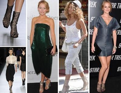 2009 en moda ayakkabi ysl kafes