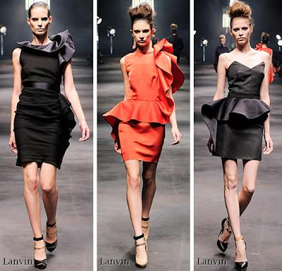 lanvin 2010 elbise 1