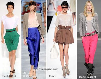 2010 yaz moda trend iki renkli kiyafetler 3