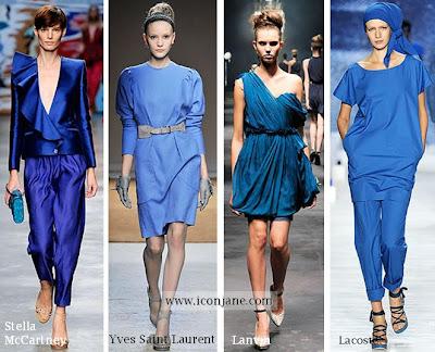2010 yaz trend moda renk mavi 3