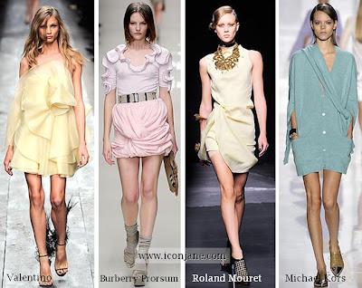2010 ilkbahar yaz pastel renkli elbise kiyafet 2