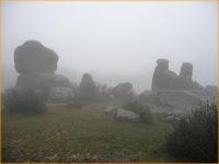 la niebla en La Pedriza puede ser increiblemente densa
