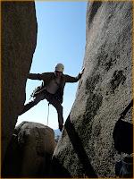 El escalador enmascarado