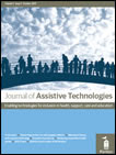 front page of Journal of Assistive Technologies