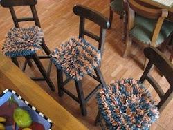 Cobertor de silla en cordon lycra