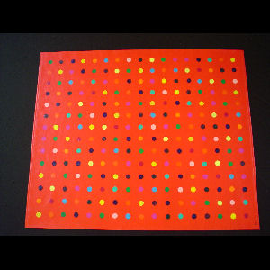 Red Polka Dots - Sold