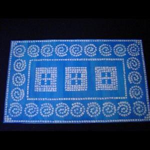 Blue Mosiac - Sold